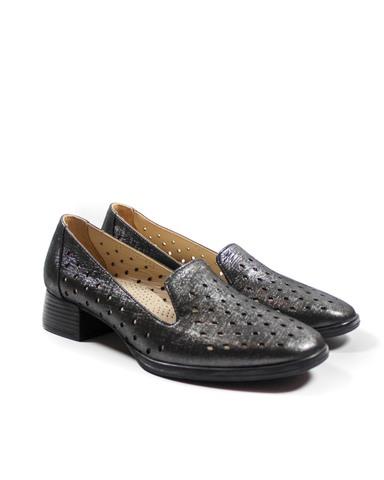 темно-серые туфли Donna Ricco