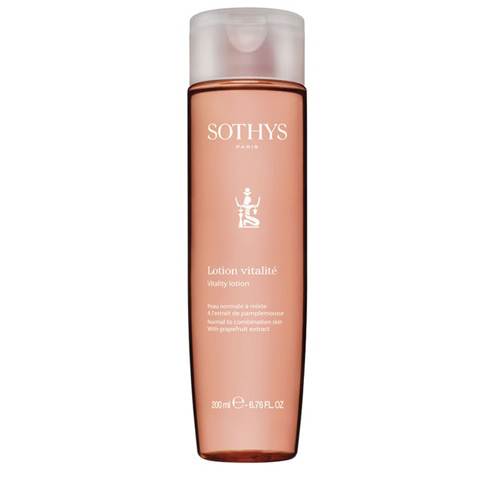 Sothys Beauty Lotions: Лосьон-тоник для норм/комбинированной кожи лица с экстрактом грейпфрута (Vitality Lotion)