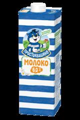 """Молоко """"Простоквашино"""" ультрапастеризованное 6,0 %, 950 мл"""
