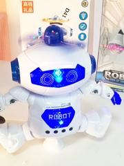 Крутящийся  робот со светом и звуком