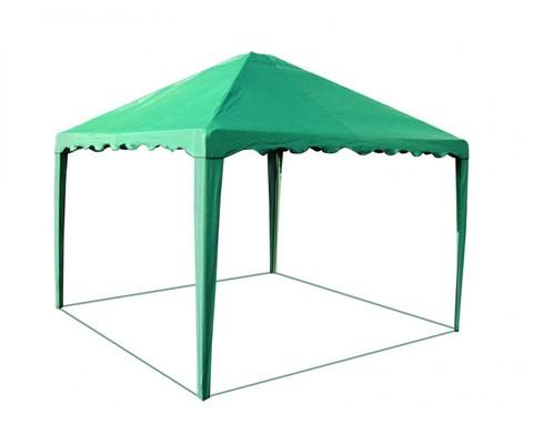 Шатер-беседка 3,0 х 3,0 зеленая