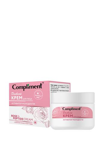 Compliment Rose&Peptide Крем для лица дневной активатор молодости