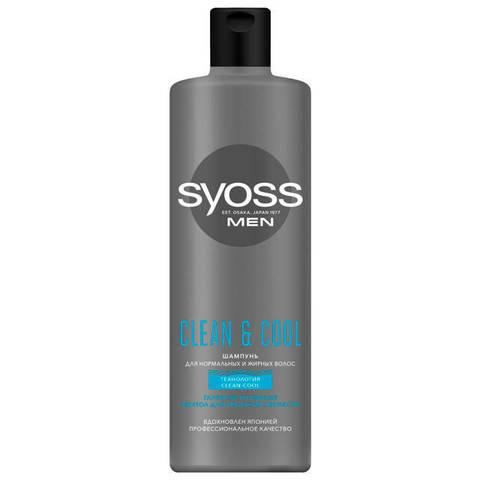 Şampun \ шампунь SYOSS Men Clean&Cool 450мл мужской