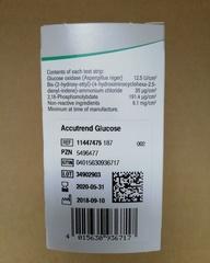 11447475187 Тест-полоски Аккутренд Глюкоза №25 (Accutrend Glucose) Roche Diagnostics GmbH, Германия