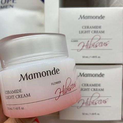 MAMONDE MOISTURE CERAMIDE LIGHT CREAM 50g