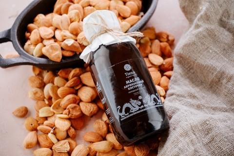 Масло абрикосовой косточки 100мл Tiena organik food