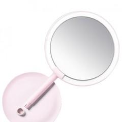 Зеркало косметическое настольное Xiaomi Amiro Lux High Color (AML004P) с подсветкой (Розовое)
