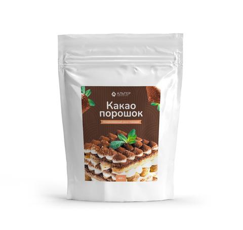 Какао-порошок Альтер алкализованный  250 грамм