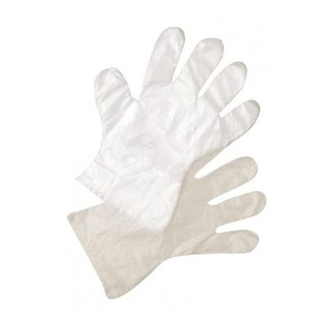 Перчатки полиэтиленовые 1шт (размер L)