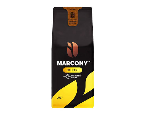 купить Кофе молотый Marcony Aroma со вкусом Баварского шоколада, 200 г