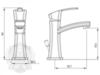 Смеситель для раковины Migliore Mercury ML.MRC-8713 схема