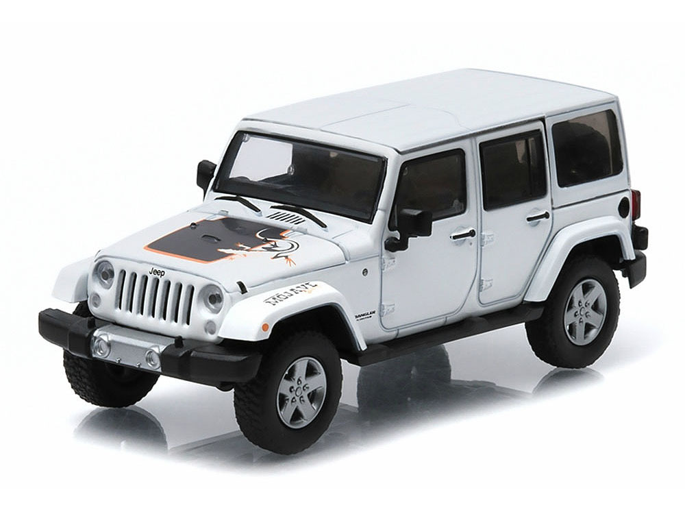 Коллекционная модель Jeep Wrangler 4х4 Unlimited Mojave Edition 5-дв.(Hard Top) 2011