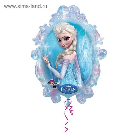 Воздушный шар Холодное сердце Эльза и Анна, 78 см
