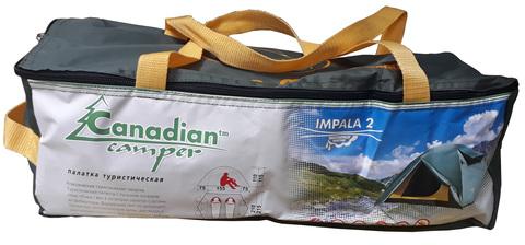 Палатка Canadian Camper IMPALA 2, цвет forest, сумка.