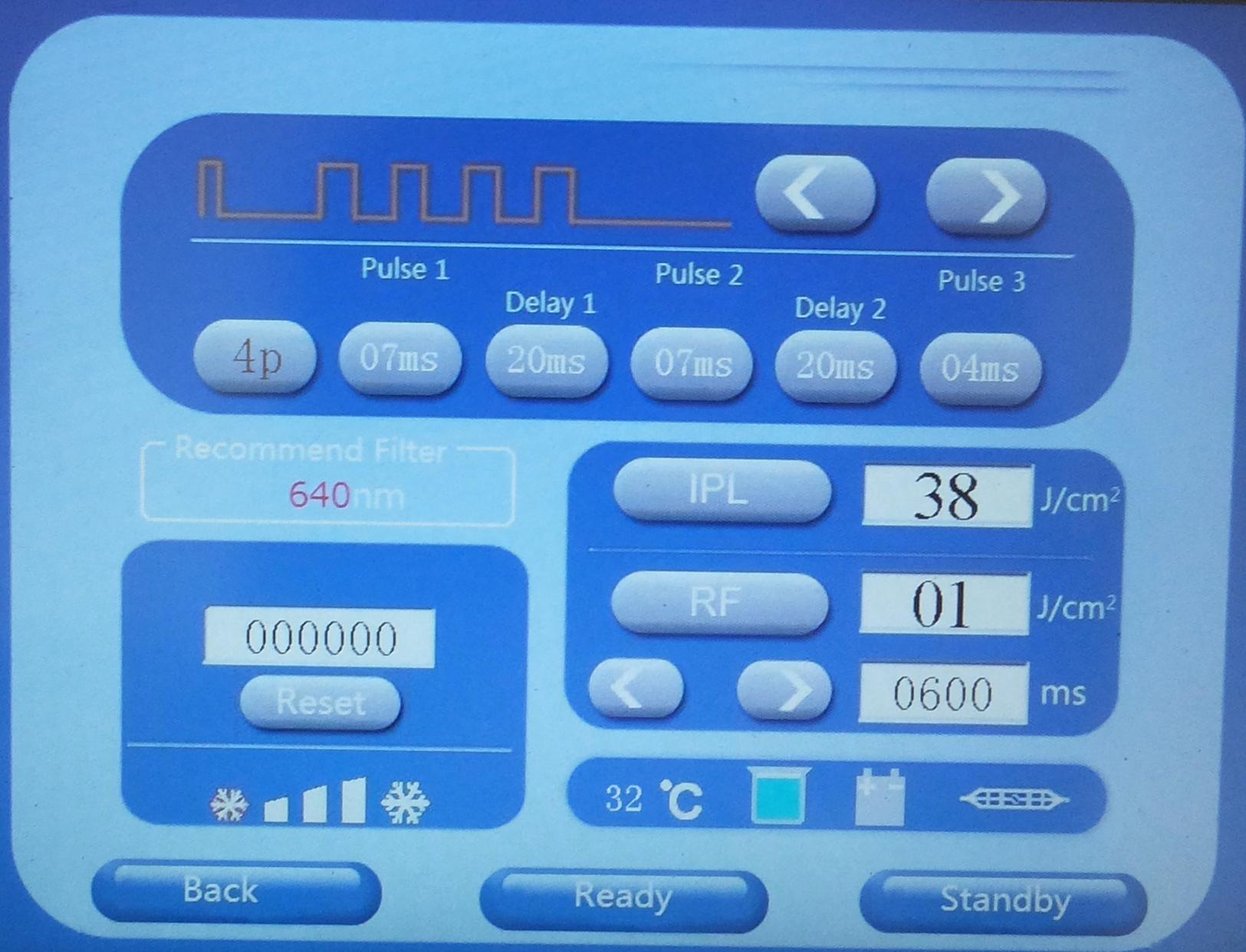 Аппарат для Элос и SHR эпиляции MED BEAUTY 602C
