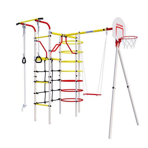 Детский спортивный комплекс для дачи ROMANA Космодром фанерные качели