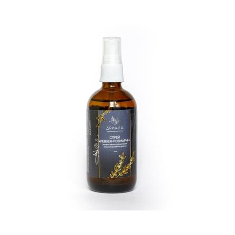 Спрей Левзея-Розмарин укрепление и стимулирование роста волос | Дриада