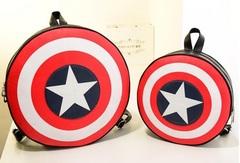 Капитан Америка Рюкзак молодежный Щит