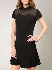 GDR008915 Платье женское. черное