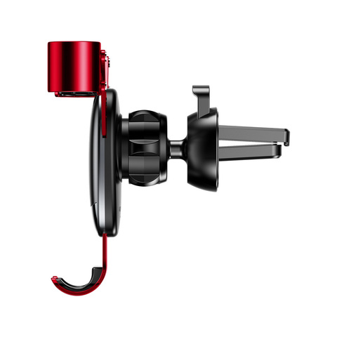 Держатель Baseus Mini gravity holder Black Red