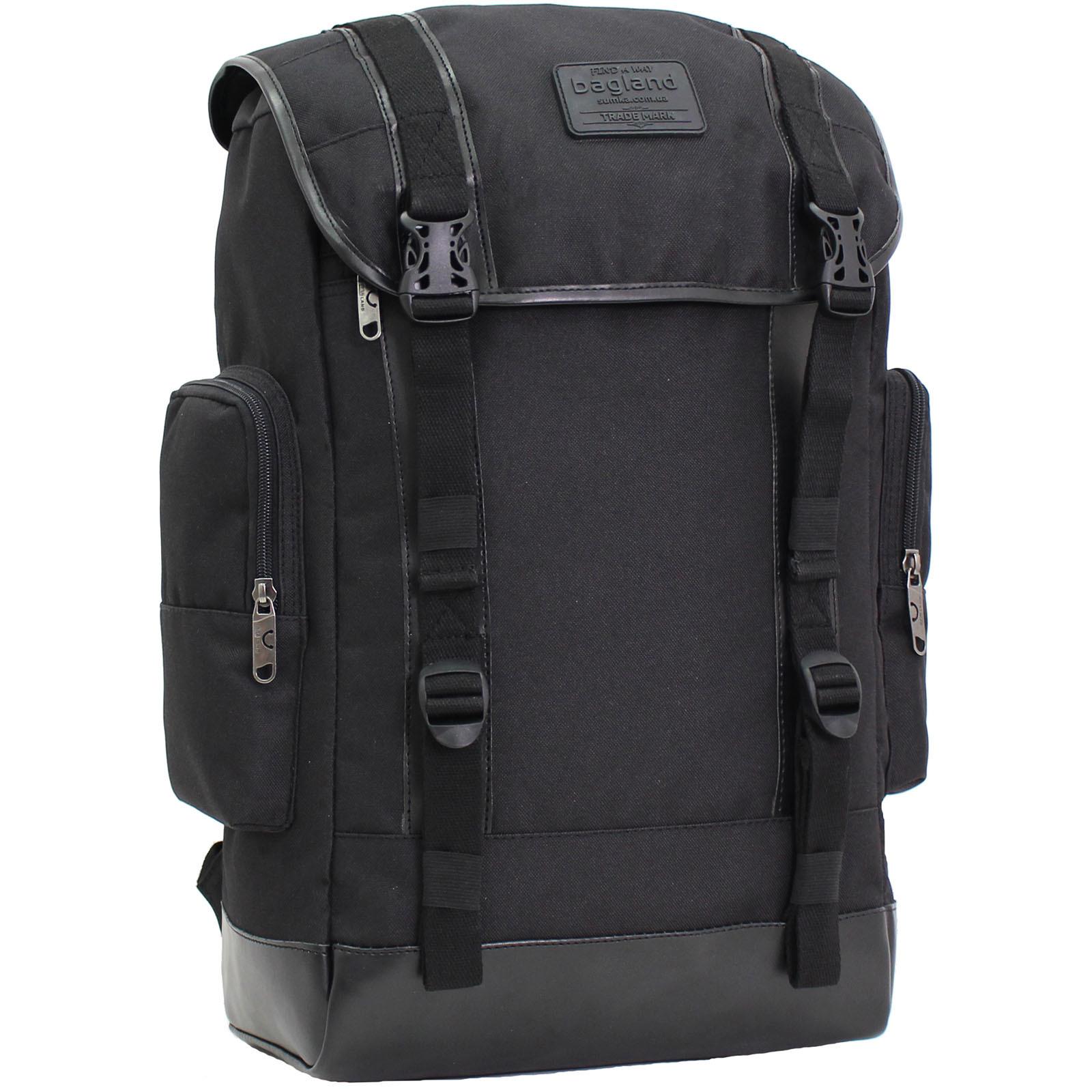 Рюкзак для ноутбука Bagland Palermo 25 л. Чёрный (0017966) фото 1