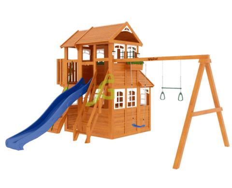 Детская площадка Клубный домик 3 Luxe