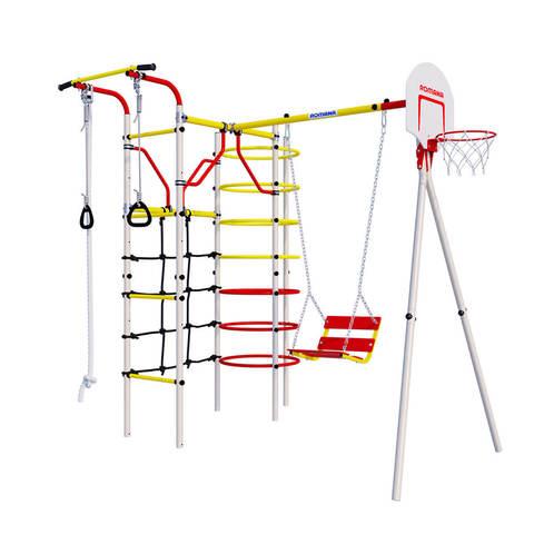 Детский спортивный комплекс для дачи ROMANA Космодром цепные качели