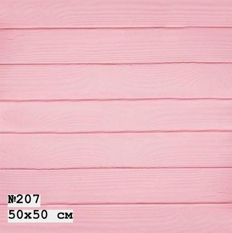 Фотофон виниловый «Розовые доски» №207