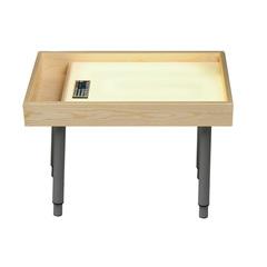 Стол для рисования песком всё включено (желтый)