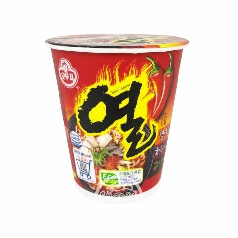 Лапша б/п OTTOGI Yeul Ramen со вкусом свинины 62г Южная Корея