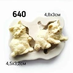 0640 Молд силиконовый Котята