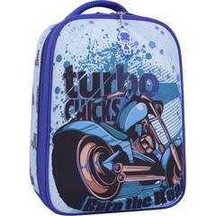Рюкзак Bagland Turtle 17 л. синий 551 (0013466)