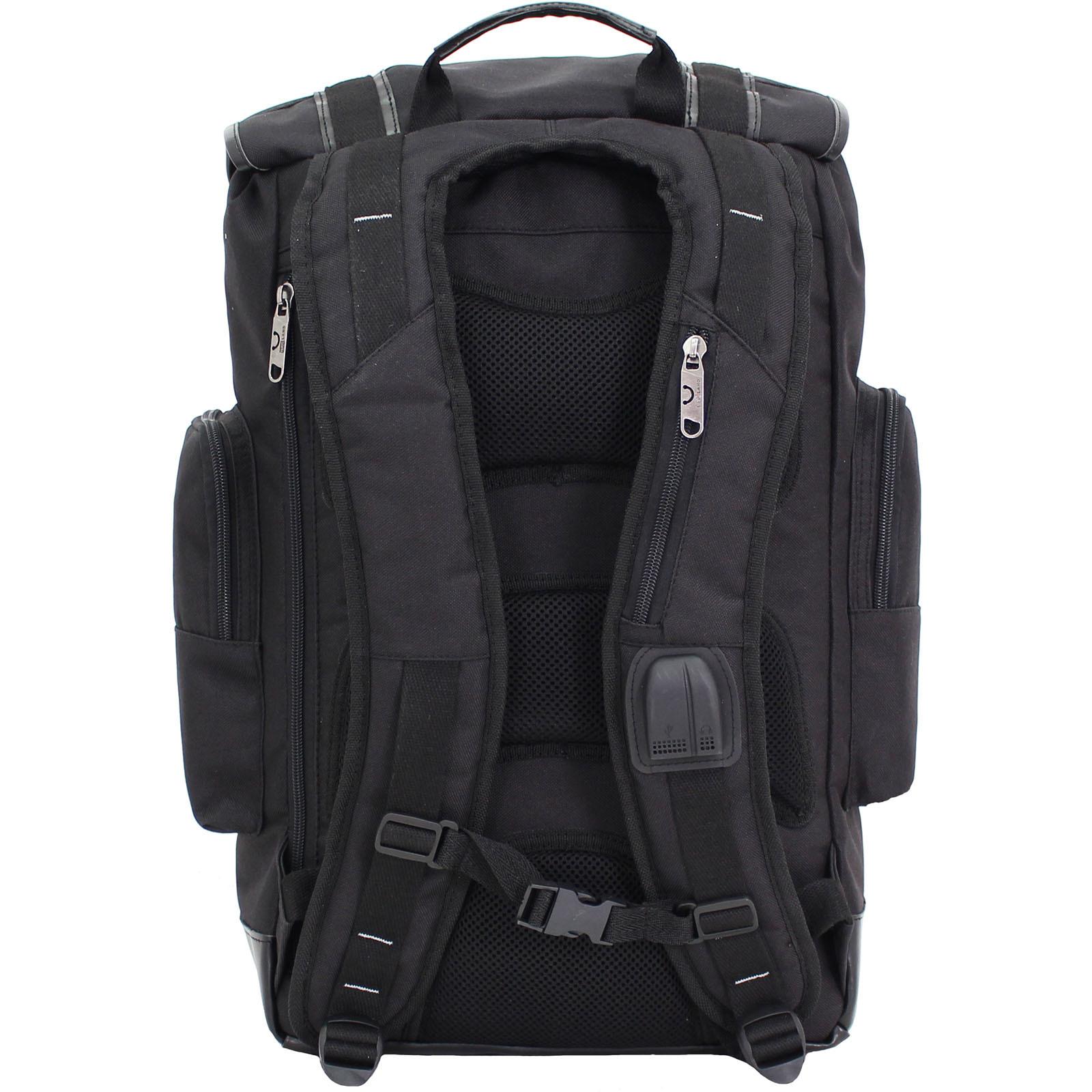 Рюкзак для ноутбука Bagland Palermo 25 л. Чёрный (0017966) фото 3
