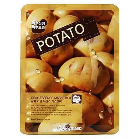 May Island Маска для лица с картофелем Real Essence Potato Mask Pack, 1 шт