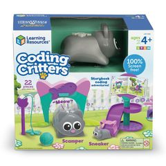 Игровой набор РобоКот, Шустрик и Быстрик Learning Resources упкаовка