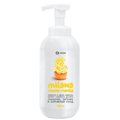 Мыло-пена Grass Milana Лимонный пирог 500 мл