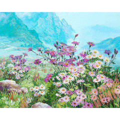 Aлмазная мозаика Весенний луг
