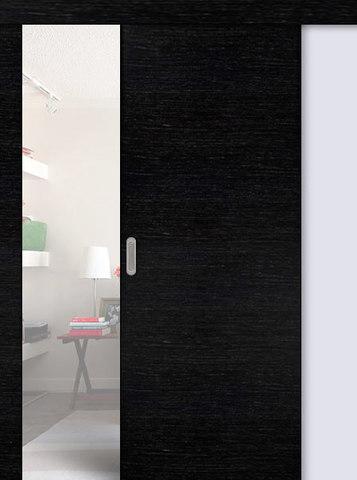Дверь раздвижная Сибирь Профиль ДПГ, цвет венге 3D, глухая