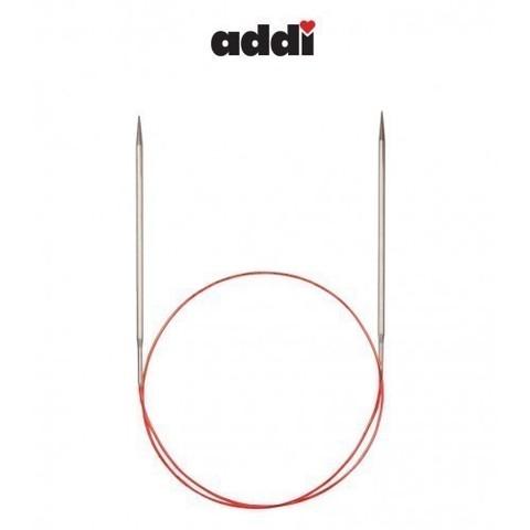 Спицы Addi круговые с удлиненным кончиком для тонкой пряжи 80 см, 2.5 мм