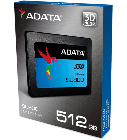 SSD накопитель A-DATA SU800 ASU800SS-512GT-C 512Гб, 2.5