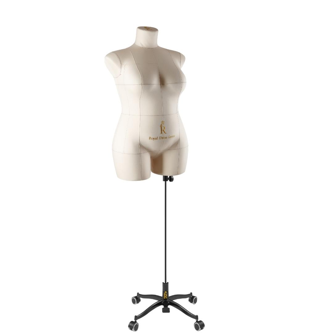 Манекен портновский Моника, комплект Стандарт, размер 54, БежеваяФото 2