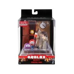 Игровая коллекционная фигурка Jazwares Roblox Desktop Series Meep City: Principal Panic W6