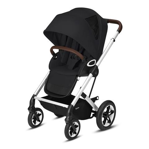 Прогулочная коляска Cybex Talos S Lux SLV Deep Black