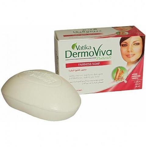 Мыло Dabur Vatika Naturals Dermoviva Fairness Soap - осветляющее 125гр