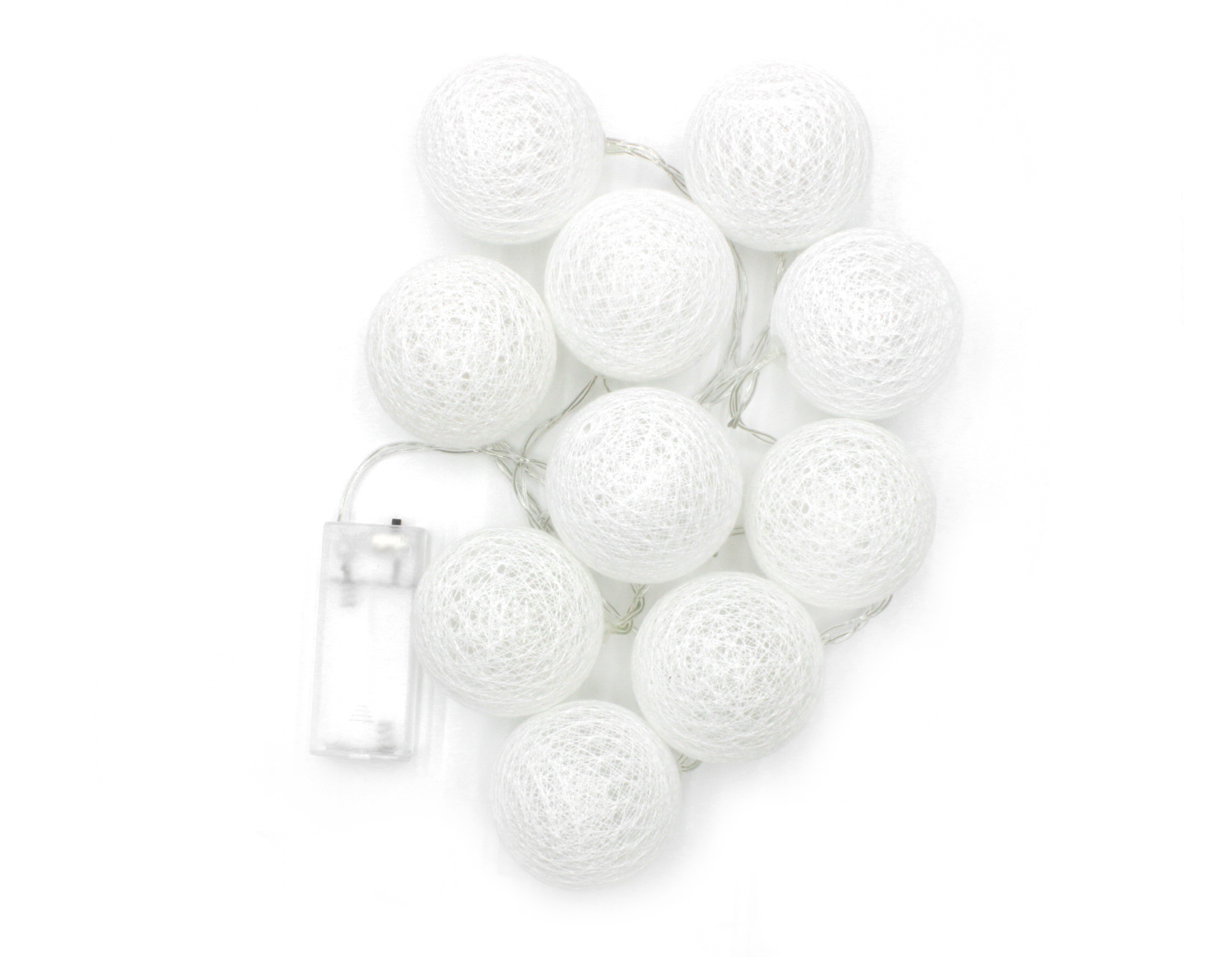 Гирлянда-шары,10 шт (батарейки)