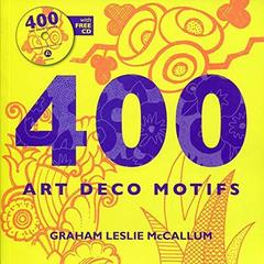 400 Art Deco Motifs + R