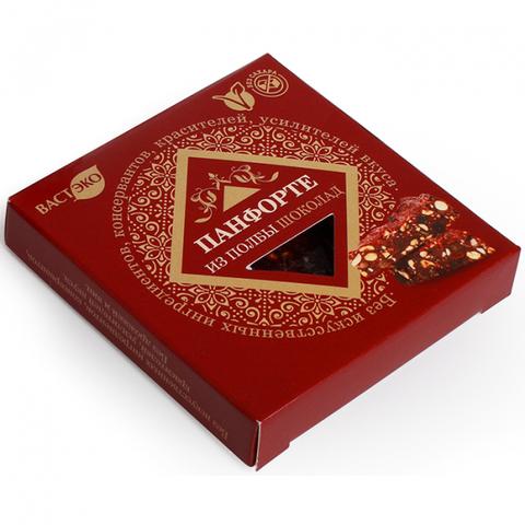 ПАНФОРТЕ шоколад из полбы, 90 гр. (ВАСТЭКО)