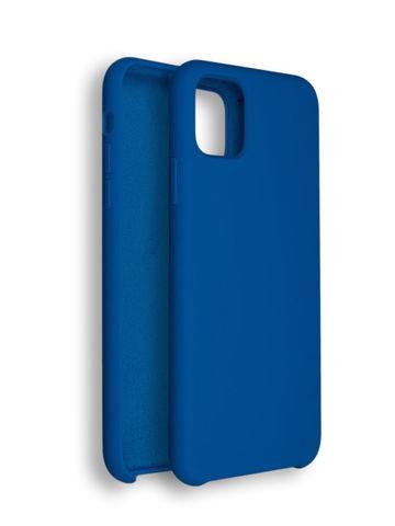 Чехол для iPhone 11 Софт Тач мягкий эффект | микрофибра синий