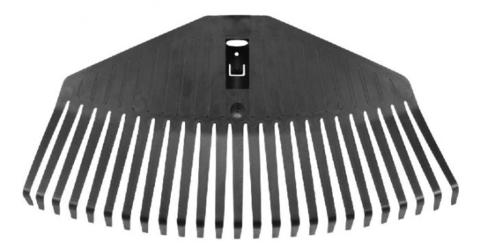 Насадка для граблей Fiskars Solid веерная средняя