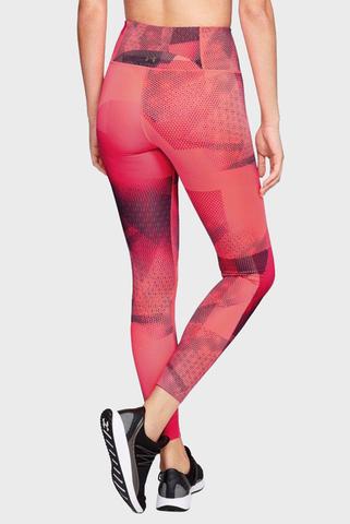 Женские коралловые тайтсы Breathelux Print Legging Under Armour